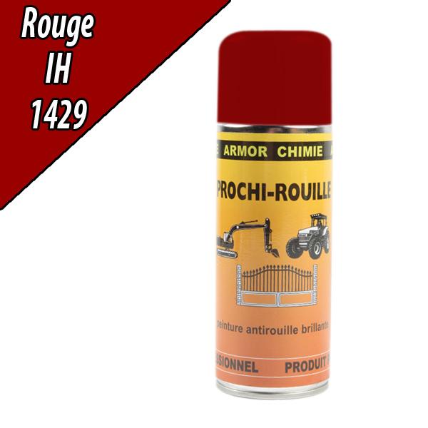 Peinture agricole PROCHI- ROUILLE brillante, rouge, 1429, CASE IH, Aérosol 400ml