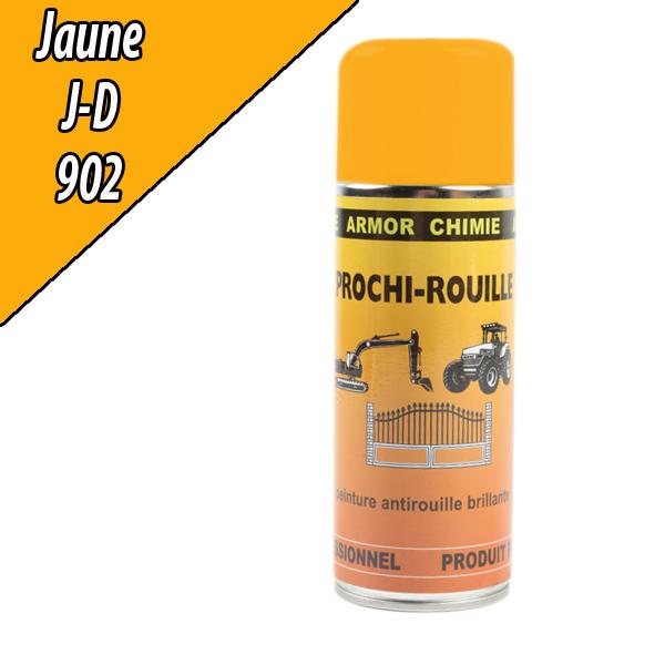 Peinture agricole PROCHI- ROUILLE brillante, jaune, 902, JOHN DEERE, Aérosol 400ml
