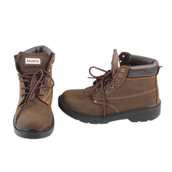 Chaussure Baudou Mixte de sécurité, Niagara, Marron, taille 43
