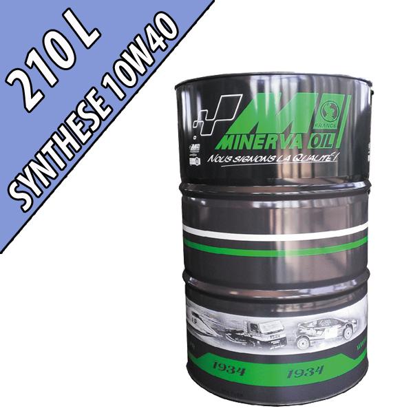 Lubrifiant synthétique multifonctionnel 10W-40 AGRI SYNTHESE, en fût de 210L