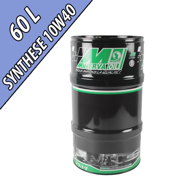 Lubrifiant synthétique multifonctionnel 10W-40 AGRI SYNTHESE, en fût de 60L