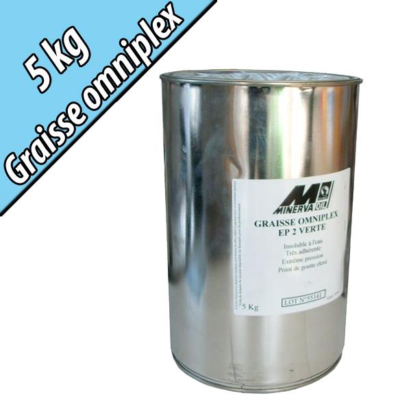 Graisse semi-fluide à savon de lithium OMNIPLEX 00, en seau de 5kg