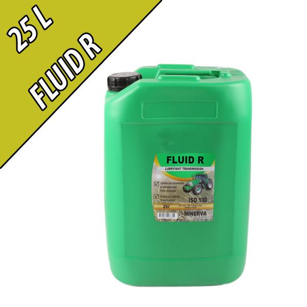 FLUID R Lubrifiant pour transmissions et circuit hydraulique, en bidon de 25L