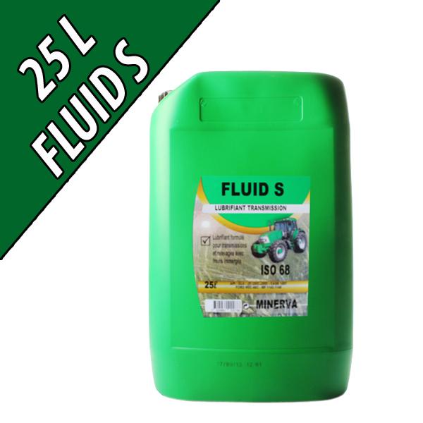 FLUID S Lubrifiant pour transmissions et circuit hydraulique, en bidon de 25L