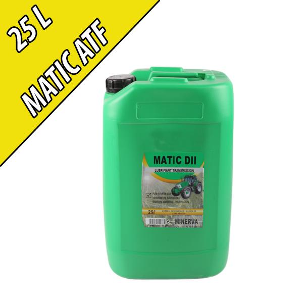 Fluide minéral pour transmissions automatiques MATIC II, en bidon de 25L
