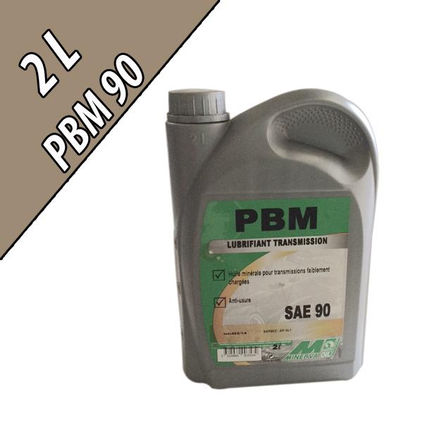 Lubrifiant minéral non extrême-pression PBM90, en bidon de 2L