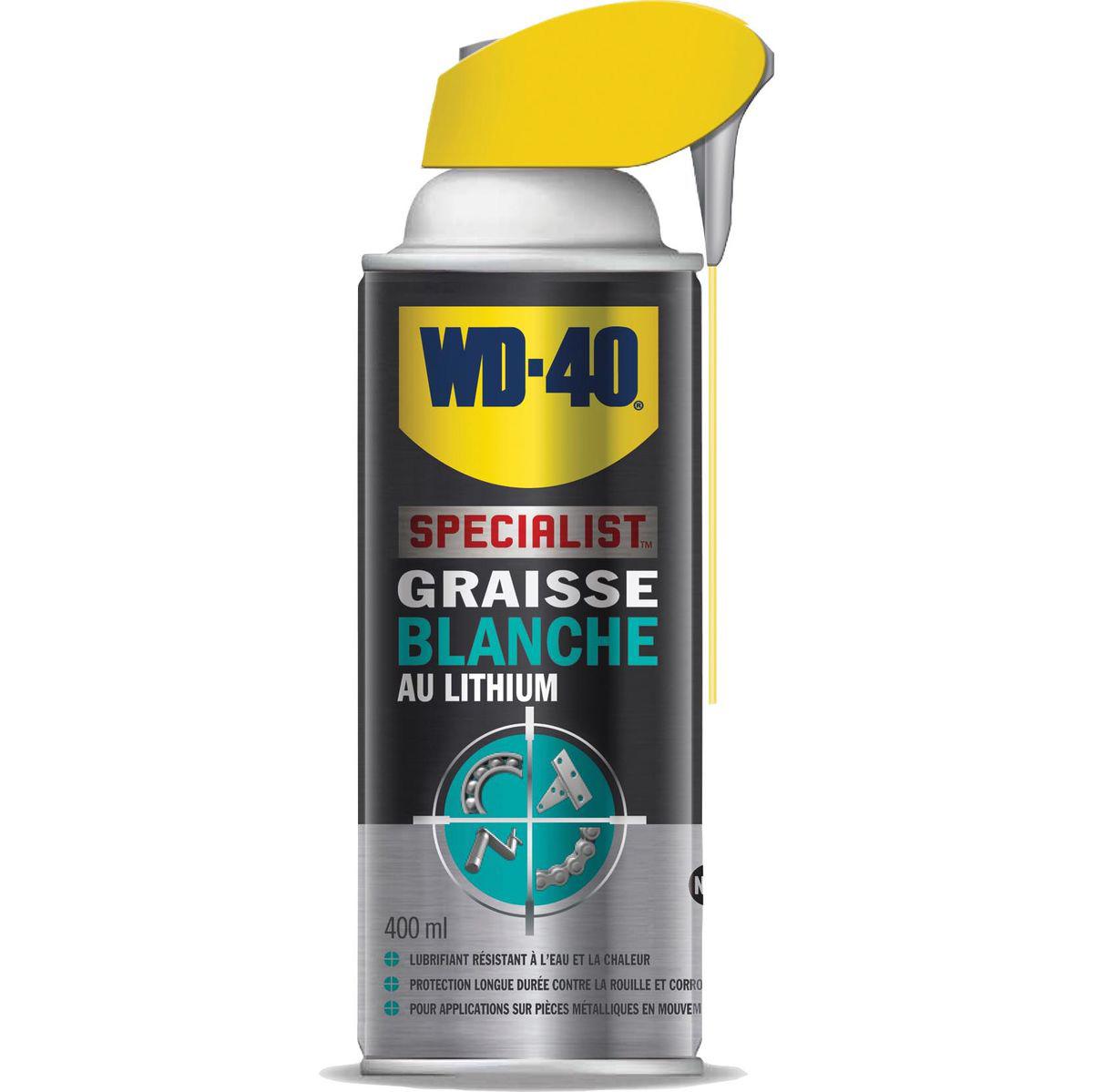 WD-40, Graisse blanche au lithium, aérosol de 400ML