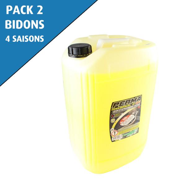 Pack de 2 bidons de liquide de refroidissement 4 saisons -25°C, PERMA UNIVERSAL D