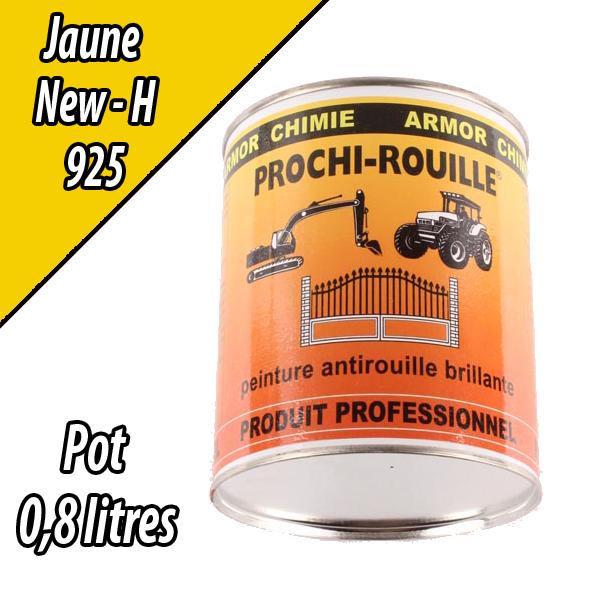 Peinture agricole PROCHI- ROUILLE brillante, jaune, 925, NEW HOLLAND, Pot 0,8 L