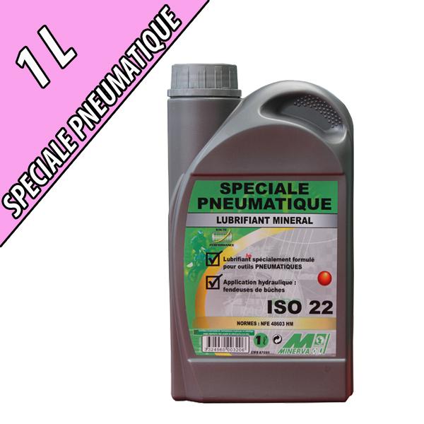 Lubrifiant pour compresseur SPECIAL COMPRESSEUR, grade ISO 22, en bidon de 1L
