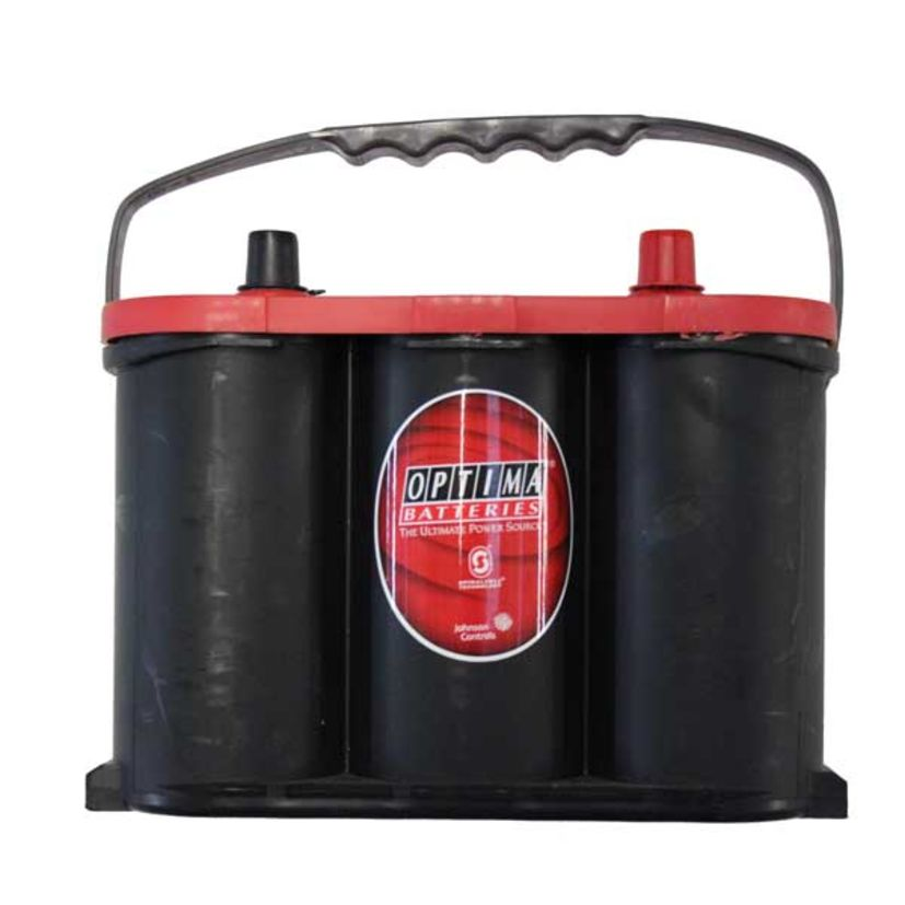 BATTERIE OPTIMA Red Top  RT R 4,2 - 12V 50Ah 815A + à droite