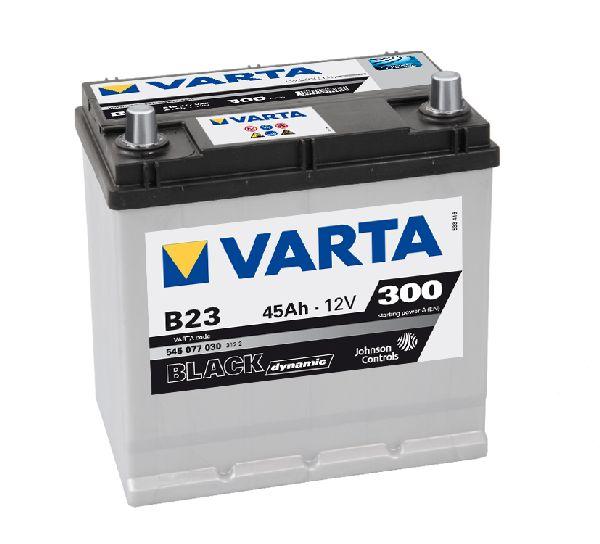 Batterie VARTA black dynamic 12V 45AH 300A B23