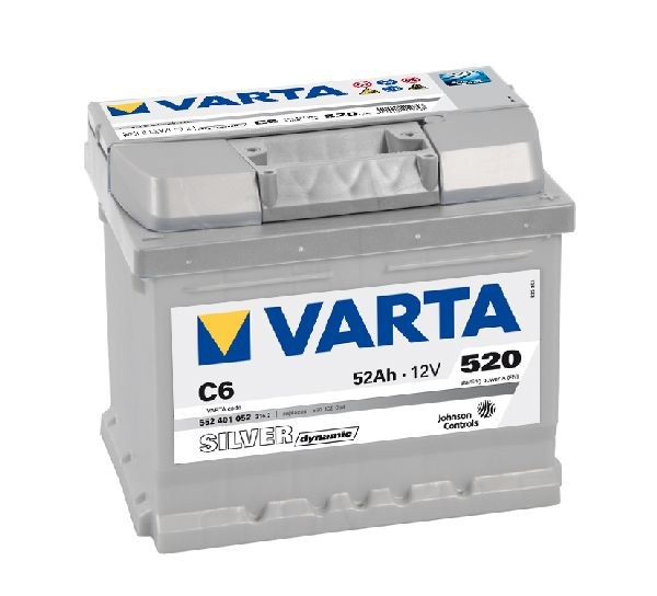 Batterie VARTA Silver dynamic 12V 52Ah 520A C6
