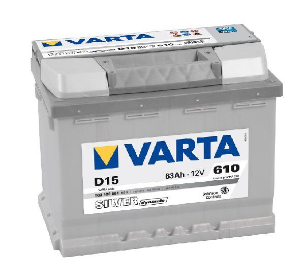 Batterie VARTA Silver dynamic 12V 63Ah 610A D15