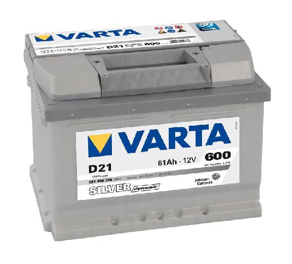 Batterie VARTA Silver dynamic 12V 61AH 600A D21