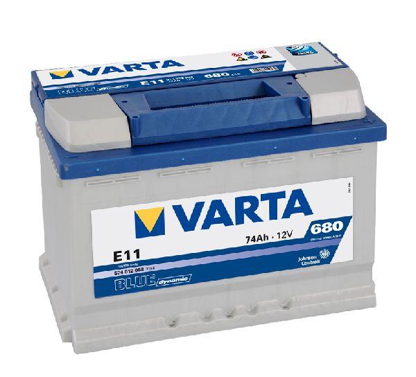 Batterie VARTA Blue dynamic 12V 74AH 680A E11