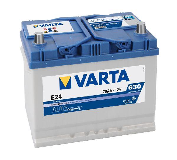 Batterie VARTA Blue dynamic 12V 70Ah 630A E24