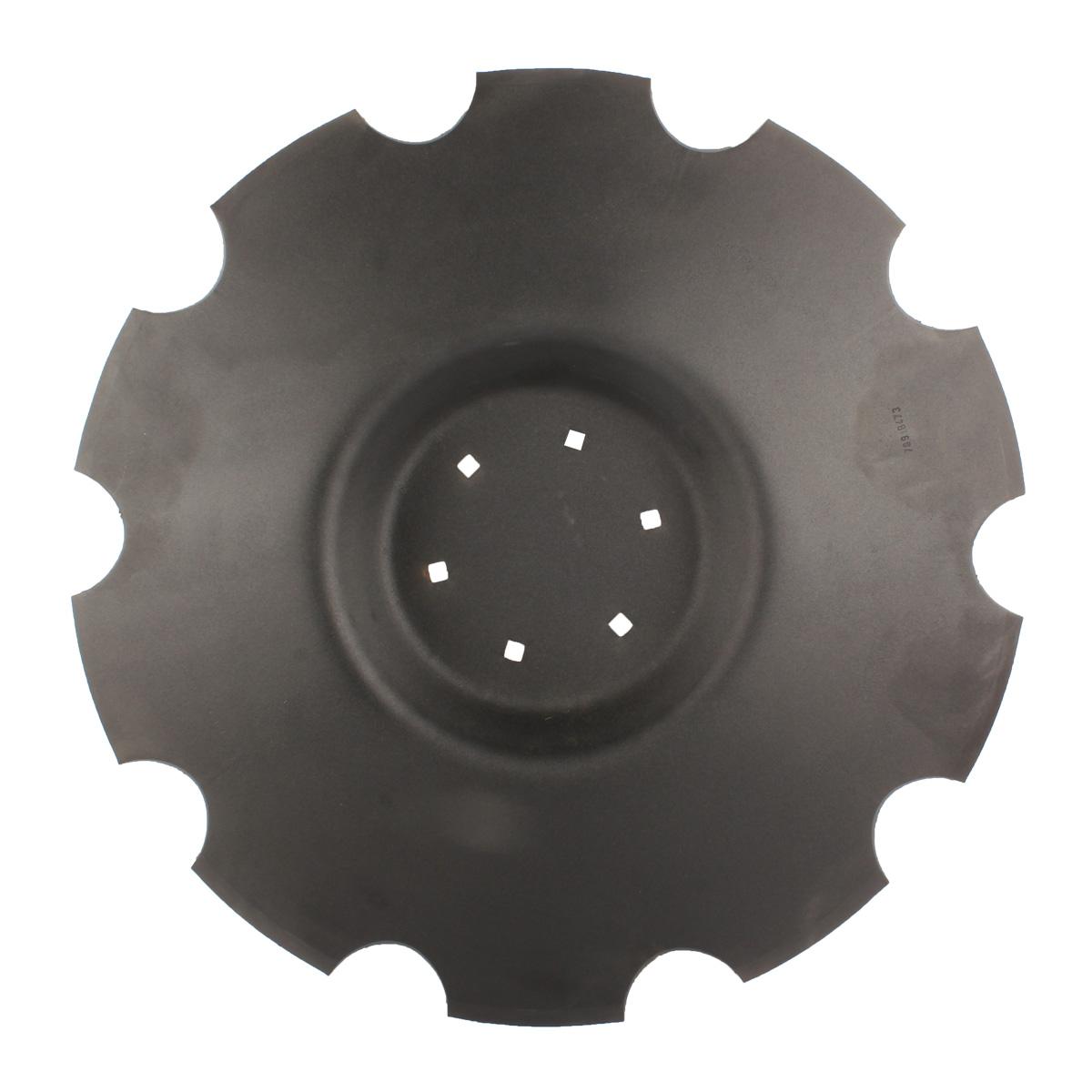 Disque crénelé 660x6 mm, 6 trous, pour déchaumeur Unia Mars TX, pièce interchangeable