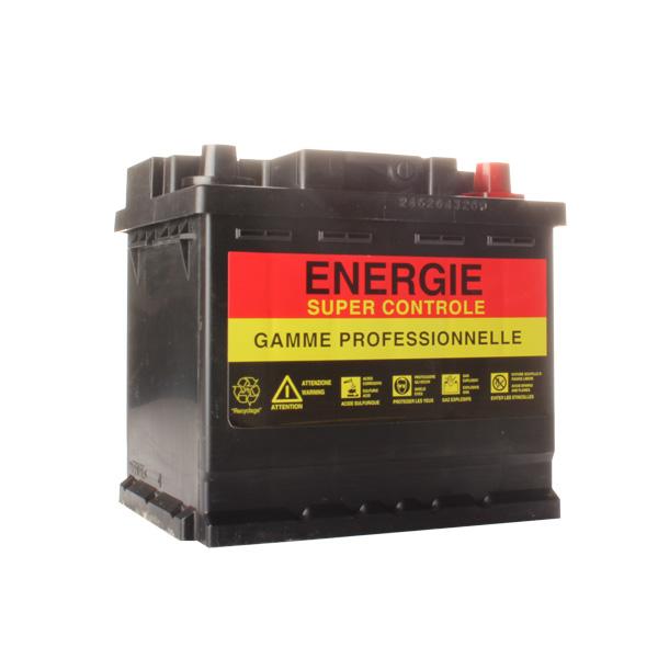 Batterie agricole 12 volts 50 ampères, 400 ampères au démarrage