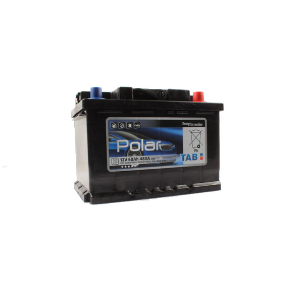 Batterie agricole 12 volts 60 ampères, 480 ampères au démarrage.