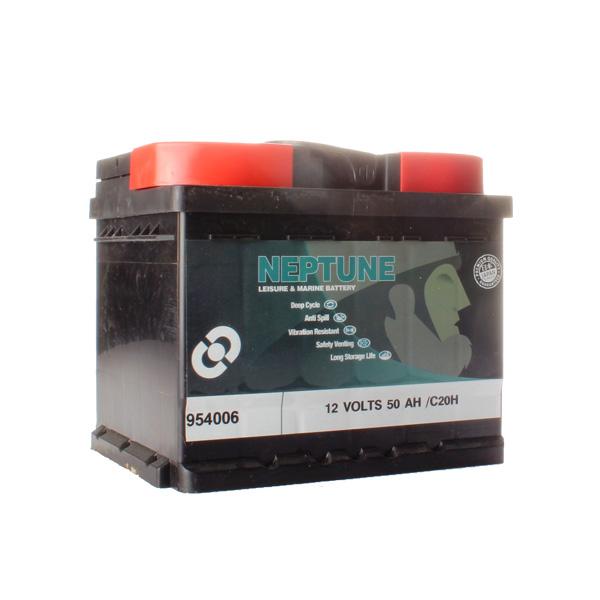Batterie agricole 12 volts 50 ampères spéciale clôture avec bac étanche, sans entretien et son oeilleton de sécurité