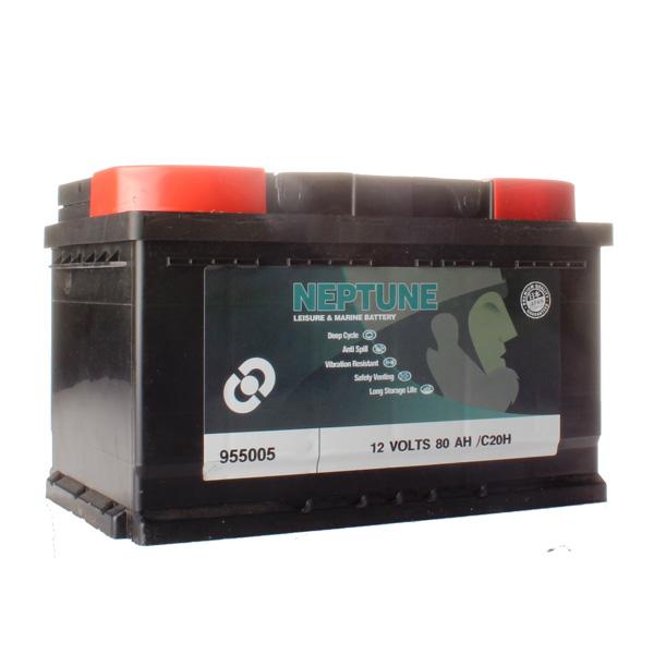 Batterie agricole 12 volts 80 ampères spéciale clôture avec bac étanche, sans entretien et son oeilleton de sécurité