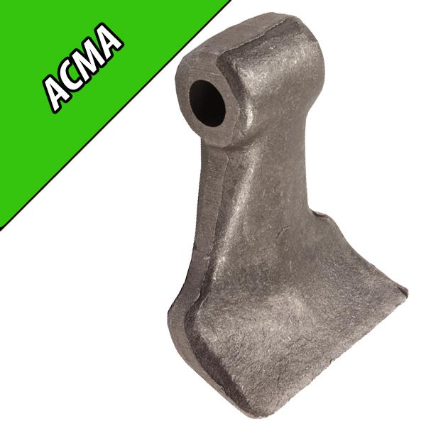 Marteau de Broyeur ACMA, 85X40, Diamètre du trou 14,5mm, Interchangeable