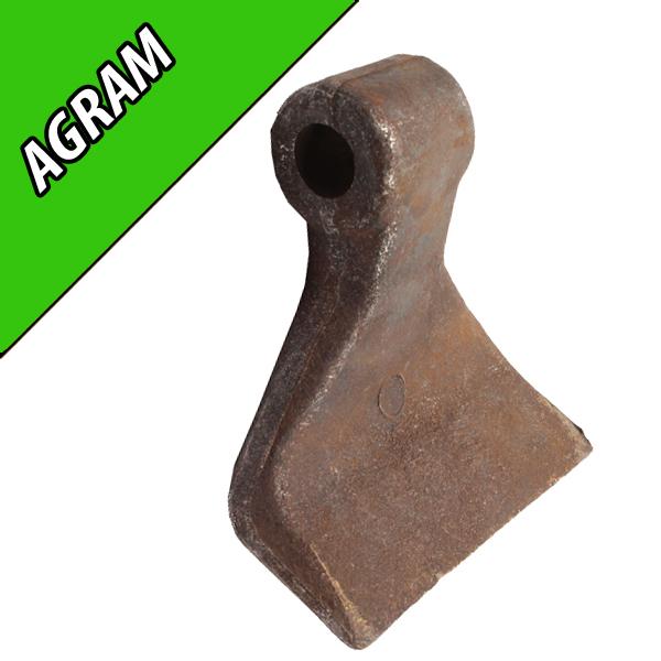 Marteau de Broyeur AGRAM, 120X40, Diamètre du trou 18,5mm, Interchangeable