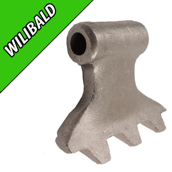 Marteau de Broyeur WILLIBALD, 155X89, Diamètre du trou 20,5mm, Interchangeable