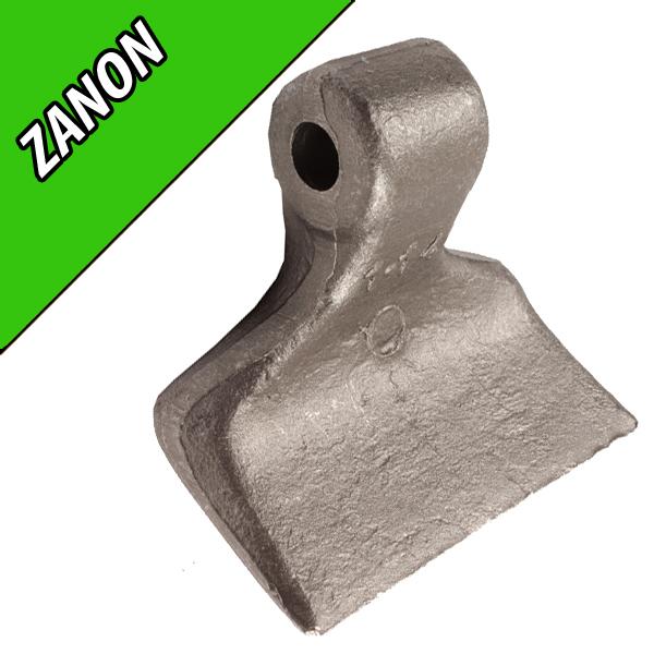 Marteau de Broyeur ZANON, 120X40, Diamètre du trou 14,5mm, Interchangeable