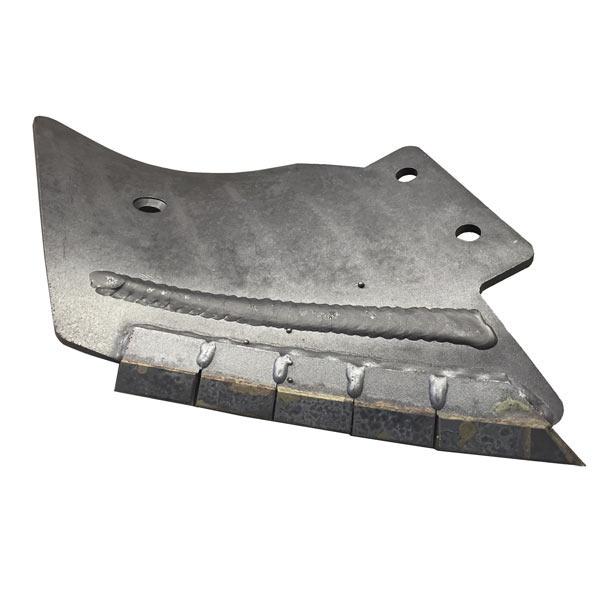 Contre Lame droite carbure pour lame Michel petit modèle, 310x350x8 mm, entraxe 80 mm, pièce interchangeable
