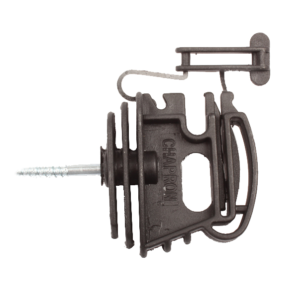 Isolateur pour ruban ou corde, CR40, 22000511, CHAPRON, sachet de 100 pièces
