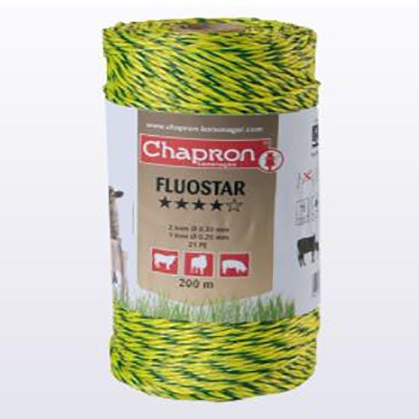 Fil électro-plastique Fluostar, Ø 0,30, rouleau 200 m, CHAPRON