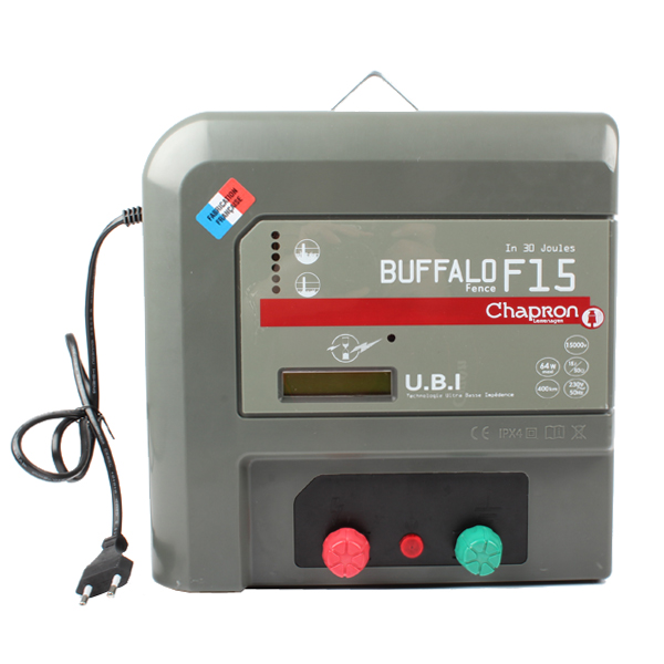 Electrificateur BUFFALO F15, 28000043, CHAPRON