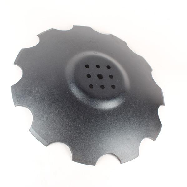 Disque crénelé 510x5 mm, 8 trous, pour déchaumeur Agrisem, pièce interchangeable