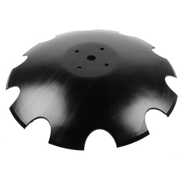 Disque crénelé 560x5 mm, 4 trous, pour déchaumeur Agram, pièce interchangeable