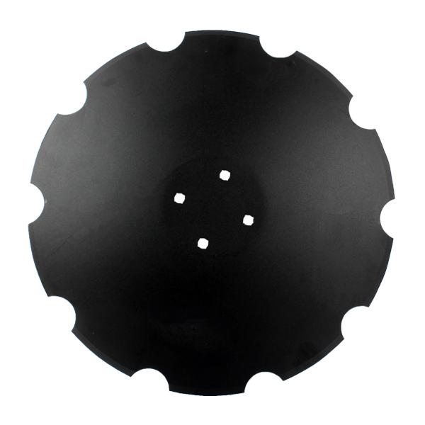 Disque crénelé 610x5 mm, 4 trous, TCS-DIS-503 Agrisem, pièce interchangeable