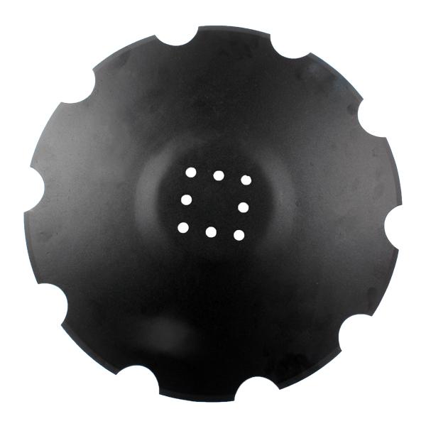 Disque crénelé 560x5 mm, 8 trous, TCS-DIS-537 Agrisem, pièce interchangeable