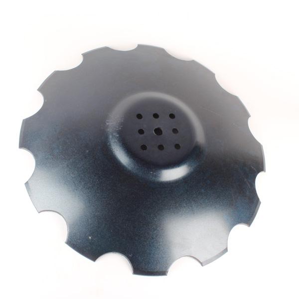 Disque crénelé 610x6 mm, 8 trous, pour déchaumeur Agrisem, pièce interchangeable