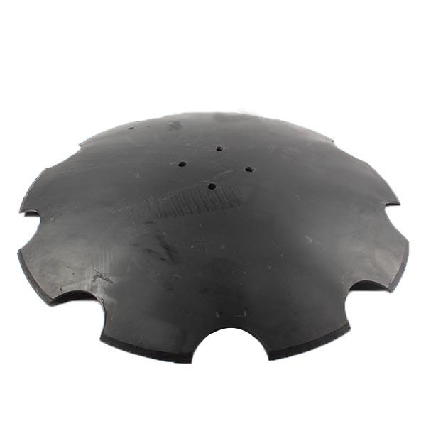 Disque crénelé 610X6 mm, 4 trous, pour déchaumeur Akpil Tiger XXL, pièce interchangeable