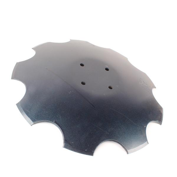 Disque crénelé 460x4 mm, 4 trous, pour déchaumeur Amazone Catros, pièce interchangeable