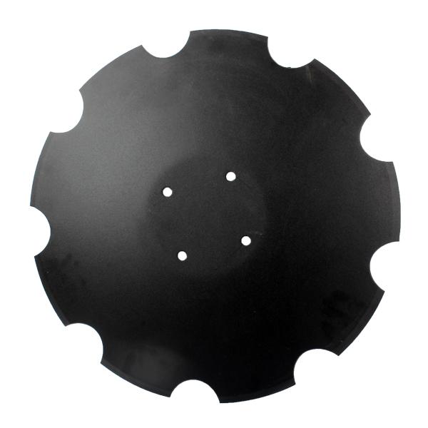 Disque crénelé 510x5 mm, 4 trous, 78201966, Amazone Catros+, pièce interchangeable