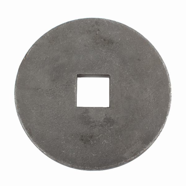 Rondelle à souder pour arbre de cover crop carré 30x30 mm