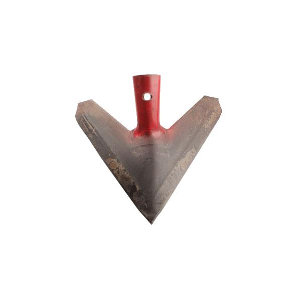 Soc triangle type BOURGAULT, 200-PWV-1408, pour Déchaumeur à dent, pièce Origine