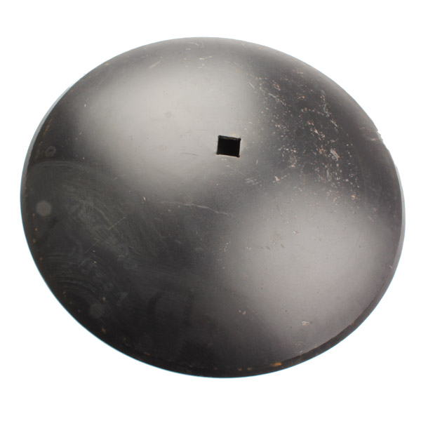 Disque lisse 610x6 mm, carré de 31 mm, pour cover crop, pièce interchangeable