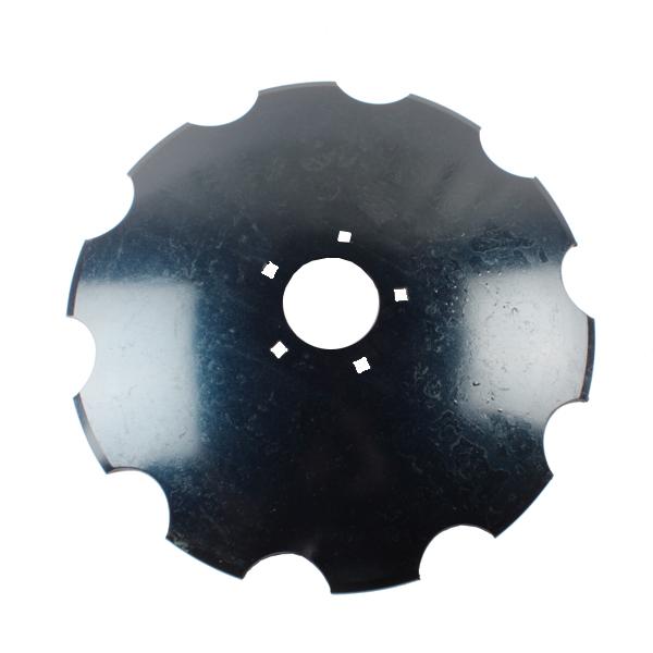 Disque crénelé 560x6 mm, 5 trous, pour déchaumeur Dalbo Maxi disc, pièce interchangeable
