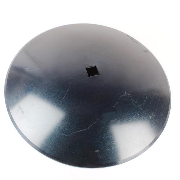 Disque lisse 660x7 mm, carré de 41 mm, pour cover crop, pièce interchangeable