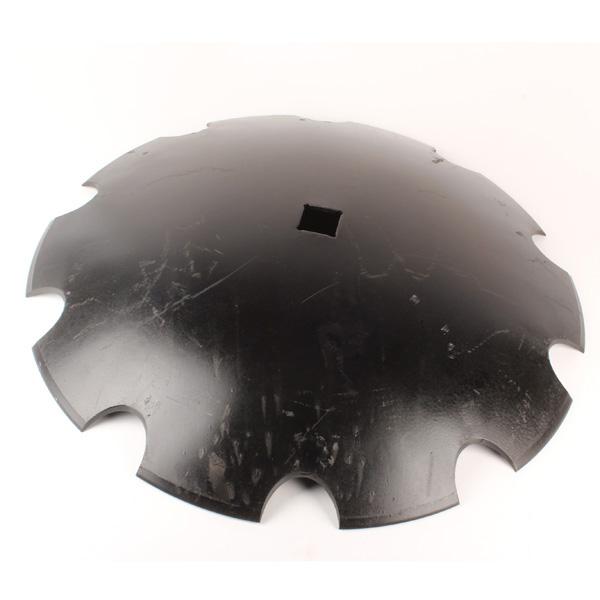 Disque crénelé 660x6 mm, carré de 41 mm, pour cover crop, pièce interchangeable