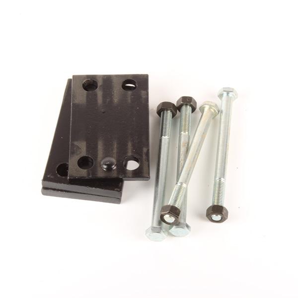 Bride 25mm pour chassis 80mm, pour Déchaumeur à dent pièce Interchangeable