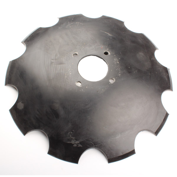 Disque crénelé 510x6 mm, 4 trous, pour Ecomulch, pièce interchangeable